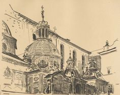 Kaplica Zygmuntowska - Leon Wyczółkowski