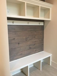For the Home 68 Super ideas laundry room organization garage entrance How to build a G Mudroom Laundry Room, Laundry Room Organization, Garage Laundry, Storage Organization, Mudroom Cubbies, Laundry Storage, Home Renovation, Home Remodeling, Kitchen Remodeling