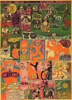 """psychedelicway: """"Alejandro Jodorowsky, Fabula 15 (1967) """""""