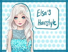 Elsa's Hairstyle by ShaniNeko on deviantART