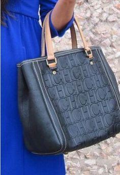 Bolso Negro Carolina Herrera , Otoño-Invierno 2012. En el armario de mariatrschic desde el 11-12-2011