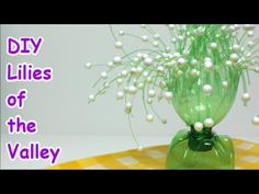 Easy DIY Crafts Ideas Lilies of the Valley from Plastic Bottle - Recycled Bottles Crafts
