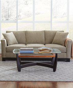 Exceptional Kenton Fabric Sofa | Macys.com