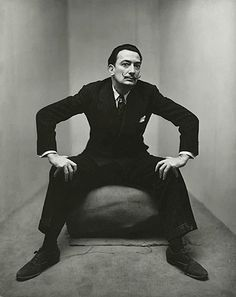 Salvador Dali by Irving Penn, 1947 http://theredlist.fr/wiki-2-16-601-793-view-fashion-1-profile-penn-irving.html?utm_content=bufferec42d&utm_medium=social&utm_source=pinterest.com&utm_campaign=buffer#photo