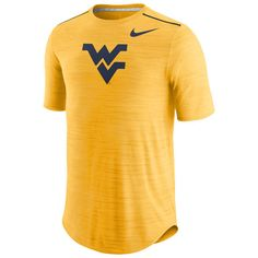 West Virginia Mountaineers Nike Player Performance T-Shirt - Heathered Gold - $59.99