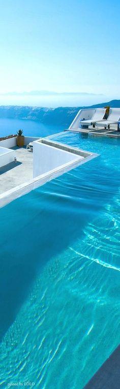 Grace Santorini #Schwimmbad http://www.bsw-web.de