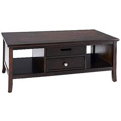 Canopy Cornerstone Collection Coffee Table, Mahogany