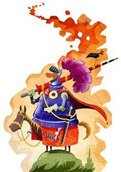 Knight Picture  (2d, illustration, cartoon, knight)