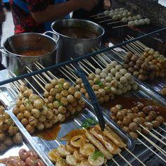 Thai skewers - Chatuchak, Bangkok