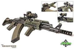 Who says an AK can't compete on the modern battlefield???