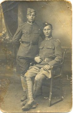 Vintage Outfits, Vintage Clothing, World War I, Wwi, Vintage Photos, Poland, Military, French, People