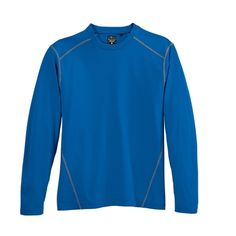 http://gobrandspirit.com/apparel-caps-and-hats/apparel-athletic/river-s-end-men-s-contrast-stitch-long-sleeve-crewneck-tee/p/8DFB979F-BC90-4B42-80E7-45E68FA218F7  River's End Men's Contrast Stitch Long Sleeve Crewneck Tee For Brand Promotion  # 1110LS 1 Day Production 26.98 | Min. Qty: 1  Textured 4 6 oz 100 polyester knit with CoolMatrix technology that lowers your skin temperature 1 2 degrees #tshirts #mens #gifts #logoitems #giveaways #apparel #clothing #fashion #style
