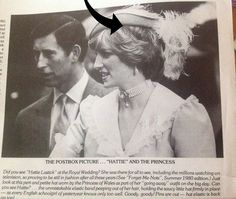 UNKNOWN STORY FROM 1981 PRINCESS DIANA'S PINK JOHN BOYD GOING AWAY HAT