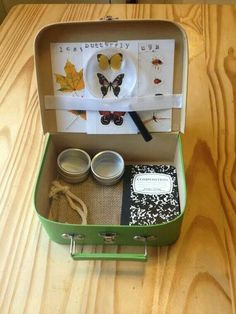 Kids Nature Kit (Exploration Edition) by CreativelyPlayful on Etsy Kits For Kids, Projects For Kids, Crafts For Kids, Nature Activities, Preschool Activities, Homemade Gifts, Diy Gifts, Les Scouts, Science For Kids
