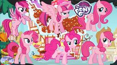 My Little Pony Mane 6 Transforms Pinkie Pie Color Swap Surprise Egg and ...