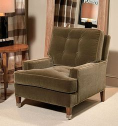 """Century Furniture - Infinite Possibilities. Unlimited Attention.® Sharpe Chair 33""""W x 40.5""""D x 38""""H"""
