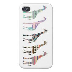 Giraffe Phone Case Covers For iPhone 4