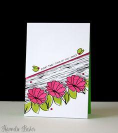 Fun Card Design: Altenew Mini Blossoms