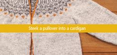 The top down icelandic Sweater // Crafty
