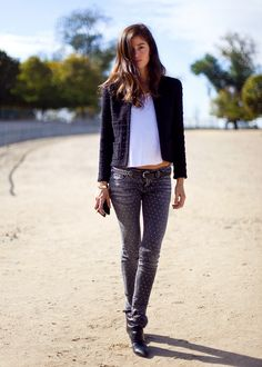 Dotted Skinnies