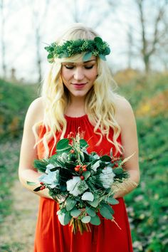 Flower Crush Friday: Holiday Florals from Hanke Arkenbout