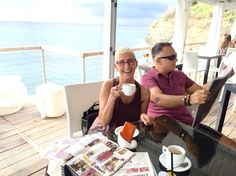 Il Kandinsky Kafè a Capo torre ...Relax finalmente ☀️☀️