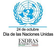 24 de octubre - Día de las Naciones Unidas.  Este día brinda una oportunidad anual no sólo para reconocer el trabajo de la Organización, también para reflexionar sobre lo que podemos y debemos hacer en pro de la paz, el desarrollo y los derechos humanos. #Madero #Altamira #Aldama #México