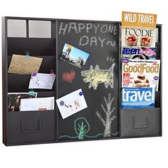 Modern Wall Mounted Brown Metal Memo Message Chalkboard /... https://www.amazon.com/dp/B00ZGZRVWE/ref=cm_sw_r_pi_dp_x_Rm9cAbD7RRYRJ