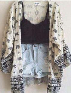 $22.00 | Fashion printed cardigan shirt SMY38UD