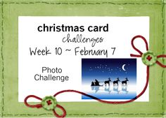 Christmas Card Challenges: Christmas Card Challenges #10