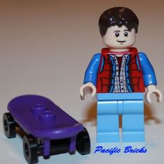 Lego Marty McFly Back to The Future Skateboard 21103 New Cuusoo DeLorean Time 5702015064835 | eBay