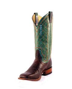 Rod Patrick Men's Bison Western Boots
