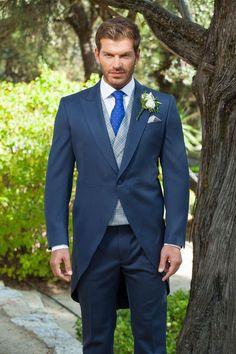Latest Coat Pant Designs Navy Blue Wedding Suits for Men Jacket Groom Tuxedo Skinny 3 Piece Style Suit Custom Prom Blazer Ternos