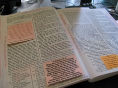 Scripture Post-Its - great LDS quotes to stick inside your scriptures