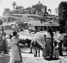 Ciudad Guatemala, Cerrito del Carmen, principios siglo XX