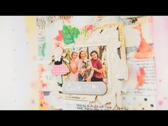 Fall Scrapbook Layout 2016 #2 - YouTube