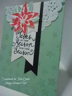 handmade by Julia Quinn - Independent Stampin' Up! Demonstrator: Reason for the Season for Crafty Boots