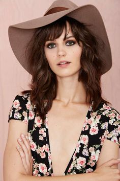 Brixton Piper Hat - Tan | Shop Hair + Hats at Nasty Gal..... LOVE LOVE LOVE this hat!!!!!! I need a bunch of new hats this season.... So let the hat buying begin!!!