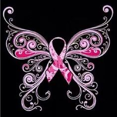 I would change the pink to gold for childhood cancer. Like this one alot!