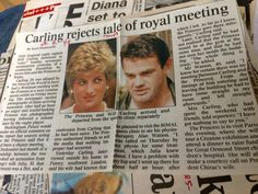 Carling rejects tale of royal meeting