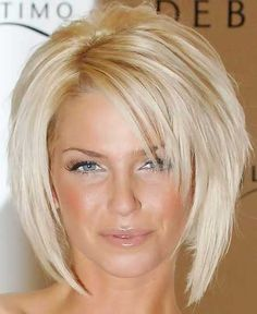 Very Glamorous and Enchanting Bob Cut by Sarah Harding