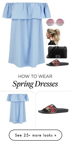 """Без названия #27"" by velarie on Polyvore featuring Gucci and Chanel"