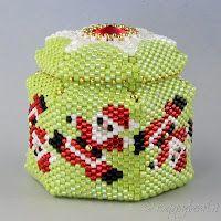 Le gioie di Happyland - patterns: Beaded box