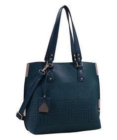 Another great find on #zulily! Green Lizzy Tote #zulilyfinds