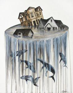 """""""The flood III"""" Art Print by Steven Bossler on Society6."""