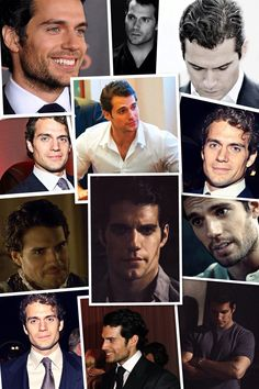 Henry Cavill...my, so many different faces of Henry!!!