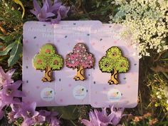 A Nintendo tree to plant just about anywhere!***SOLD OUT Sakura trees*** Vaporwave, Ac New Leaf, Indie, Animal Crossing Game, Peach Trees, Cat And Jack, Cute Pins, Pin And Patches, Trees To Plant