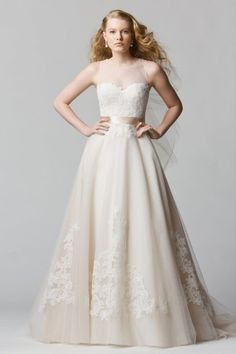 Wtoo Brides Bellavista Gown #watters #weddingdress http://www.pinterest.com/wattersdesigns/