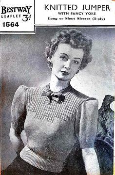 5c37d45f6970 198 Best  The Sunny Stitcher Vintage Knitting Pattern Archive ...