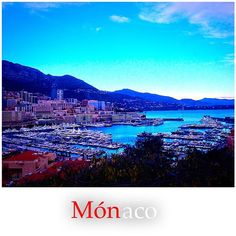 #Rocher #bonjour #Monaco #port #hercule #xmas #trip #coted'azur #costa #azul #goodmorning #route by nationalgeorgegraphic from #Montecarlo #Monaco